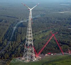 SeeBA presenta la torre eólica más alta del mundo
