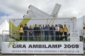AMBILAMP comienza la segunda exposición itinerante sobre reciclado de lámparas