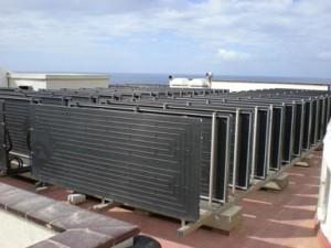 PST instala el primer hotel con energía solar termodinámica