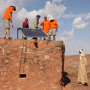 Montesol inicia campaña solidaria de instalación de placas solares en Marruecos