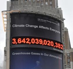 Deutsche Bank lanza el primer contador de emisiones de carbono en tiempo real