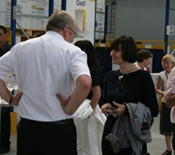 El grupo socialista visita las instalaciones de Sputnik Engineering AG en Biel