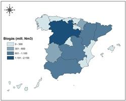 España genera biogás agroindustrial en 8.000 millones de m3/año