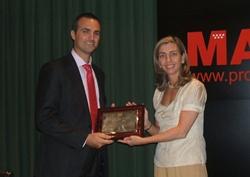 Unibail-Rodamco recibe el premio a la mejor instalación solar fotovoltaica