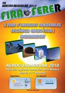 La segunda edición de la Fira FERER tendrá lugar en Agroguadassuar'10