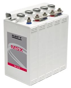 La nueva batería compacta MSX de Saft: gran potencia en trenes eléctricos y diesel