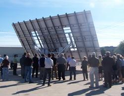 MECASOLAR abre un centro de fabricación de seguidores solares en Ontario (Canadá)