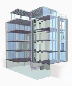 La Climatización Invisible supone un ahorro energético de al menos un 30% en la construcción de edificios