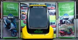 El Eco-Taxi, la revolución del transporte público, a un paso de hacerse realidad