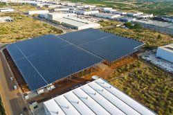 La instalación fotovoltaica sobre cubierta más grande de Comunidad Valenciana confía en los inversores de SolarMax