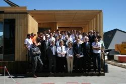 La casa solar SMLsystem, de la CEU-UCH, comienza la competición en el Solar Decathlon Europe