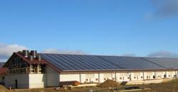 Conergy instala un sistema fotovoltaico de 1 MW sobre la cubierta de un granero de Brandenburgo