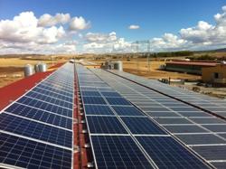 Conergy pone en marcha una planta solar en la cubierta de una fábrica de queso en Zamora