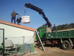 Una escuela-taller se calienta con KWB mediante venta energética